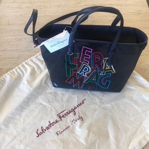 NWT Ferragamo Bonnie Tote with Dust Bag